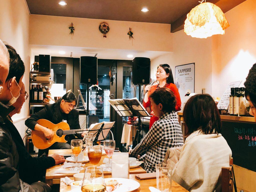 SARAH-DA/2019/Xmas シャンソン LIVE By,EmiGrande.